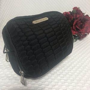 Aimee Kestenberg Giulia Black Quilt Cosmetic Bag